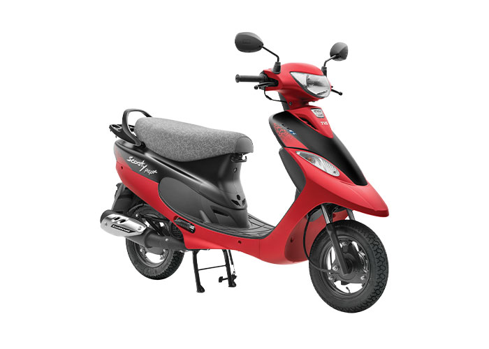 2021 TVS Scooty Pep+ Coral Color (Coral Matte)