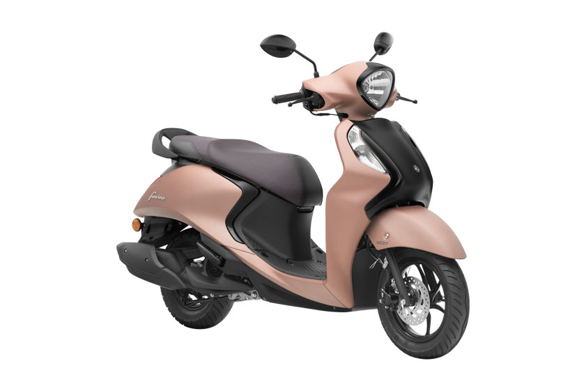 2021 Yamaha Fascino Sauve Copper Color