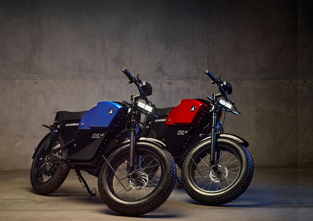 ATUM 1.0, the café racer styled e-bike receives Design Patent