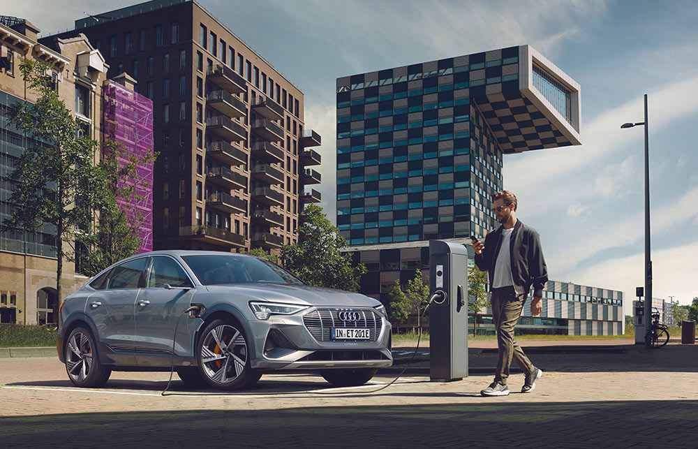 Audi charging infrastructure in India