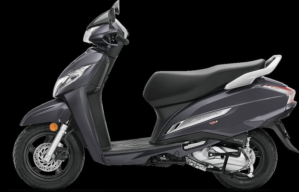 2021 Honda Activa 125 Grey Color