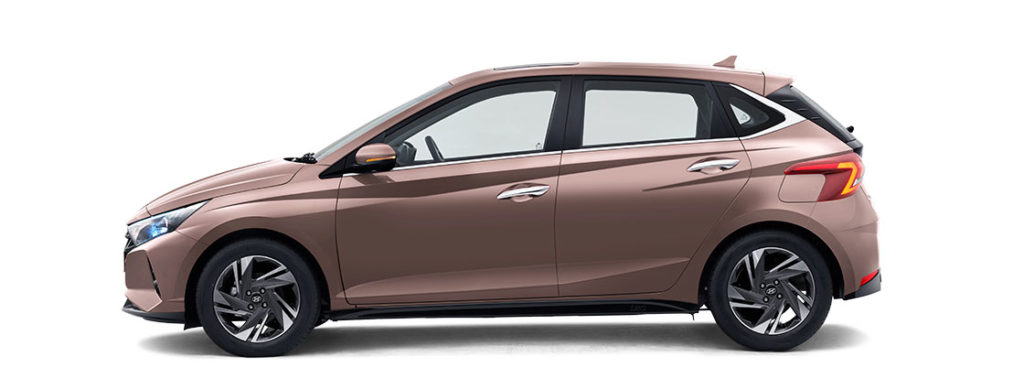 2021 Hyundai i20 Metallic Copper Color