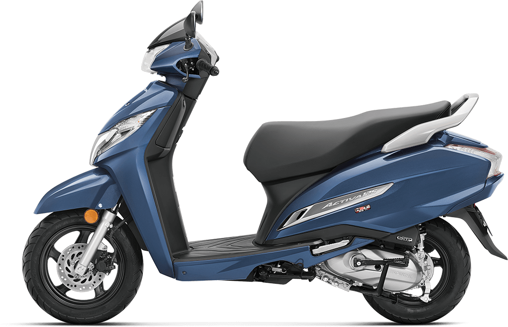 2021 Honda Activa 125 Blue Color