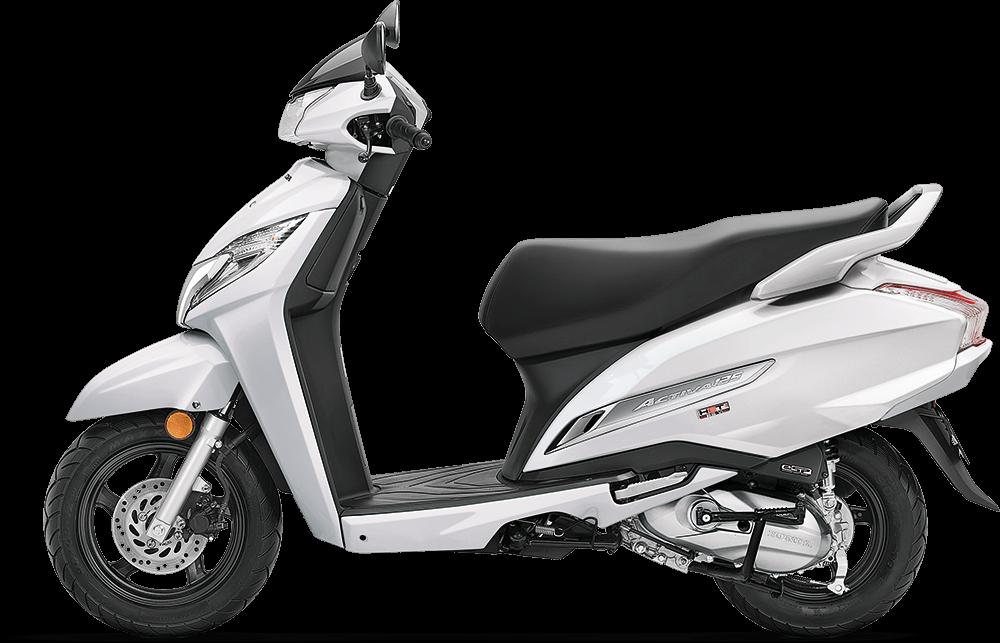 2021 Honda Activa 125 White Color