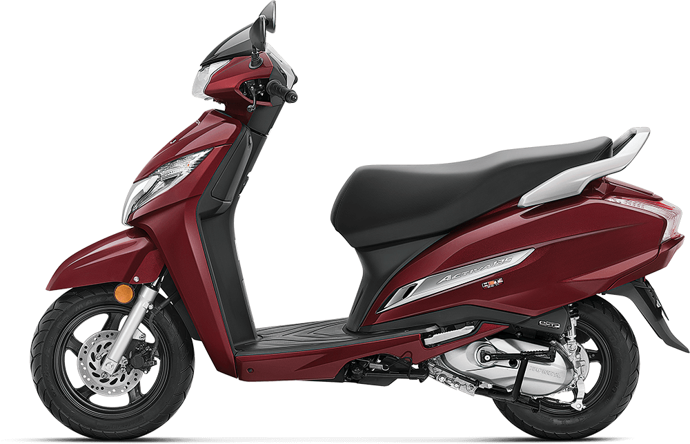 2021 Honda Activa 125 Red Color