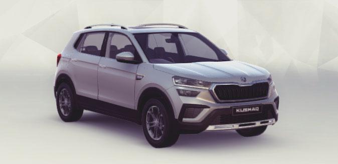 New 2021 Skoda Kushaq Silver Color variant  Brilliant Silver color option