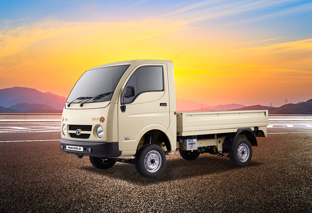 2021 Tata Ace Gold Petrol CX launched at Rs. 3.99 lakhs