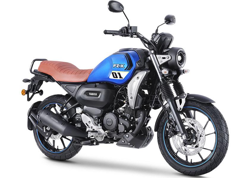 Yamaha FZ-X Blue Color - Yamaha FZX Metallic Black color 2021