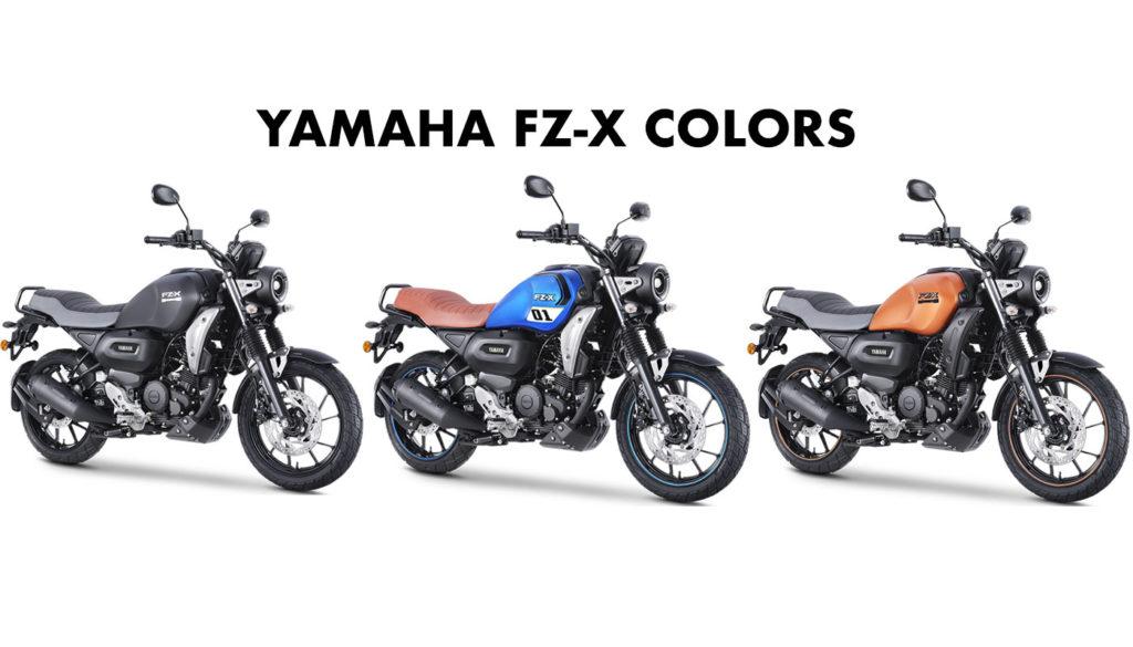 Yamaha FZ-X Colors - 2021 Yamaha FZ-X All Color options New FZ-X All Colors