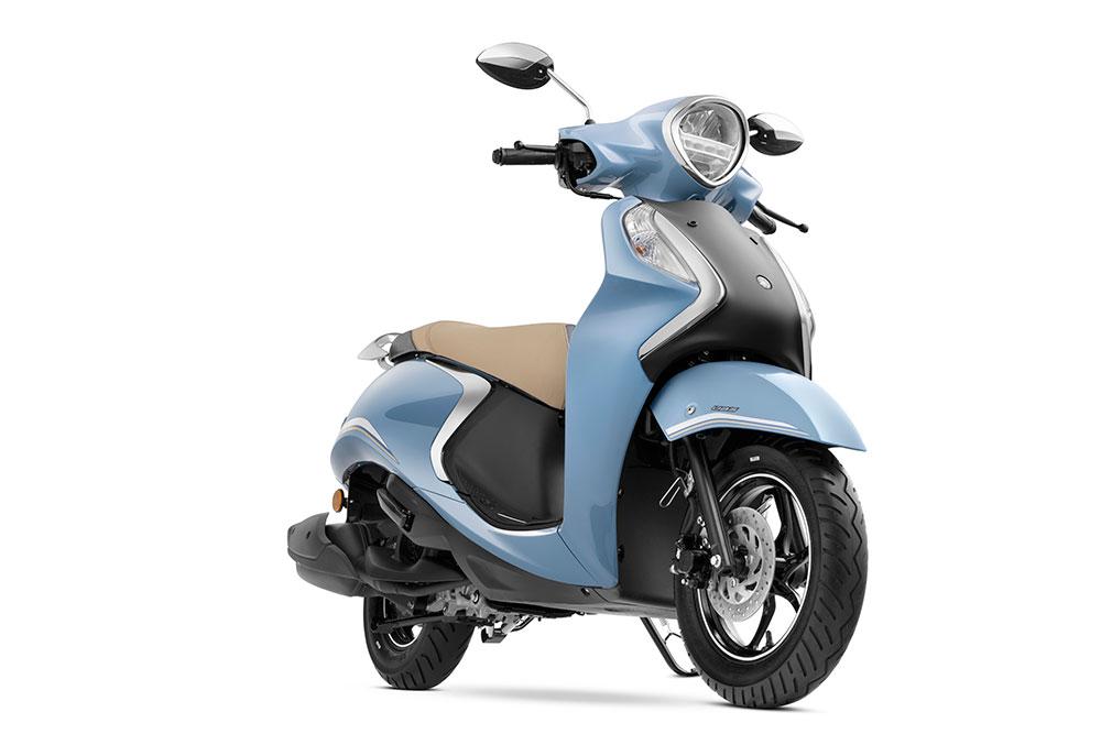 2021 Yamaha Fascino 125 Hybrid Blue Color