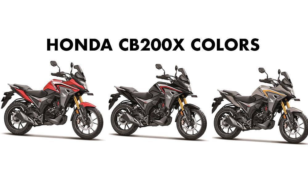 Honda CB200X Colors - All Colors Honda CB 200X