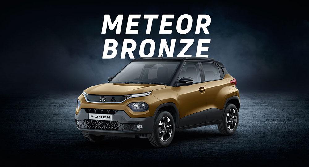 Tata PUNCH Bronze Color Meteor Bronze Color